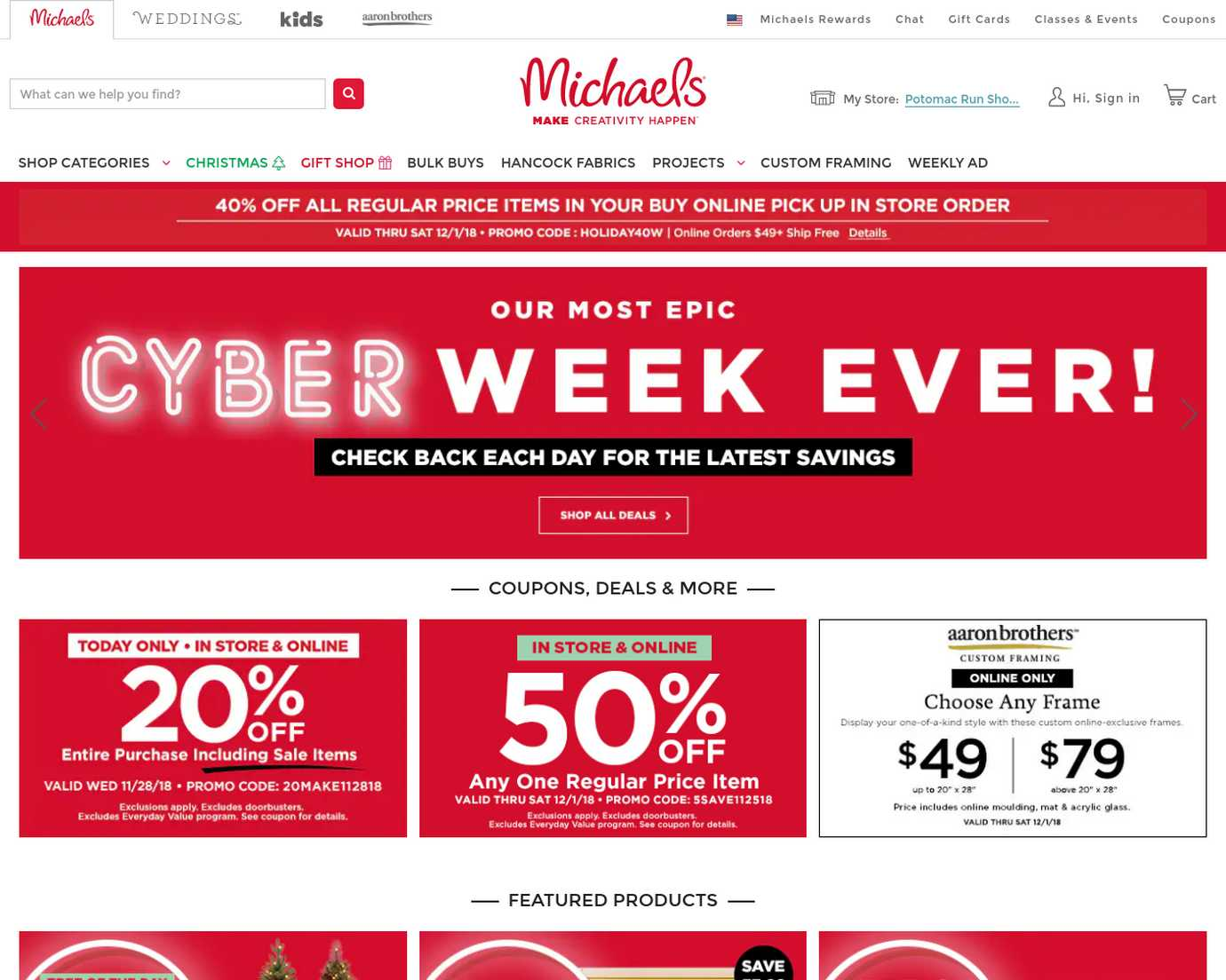 Michaels Coupons New Promo Codes
